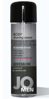 JO Men Body Shaving Cream Adrenaline,