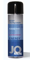 JO Men Body Shaving Cream Energy,