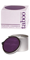 Taboo Massage Candle Ambre/Musc,