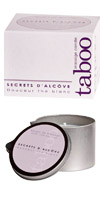 Taboo Massage Candle the Blanc 160g,